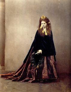 Virginia Oldoini, la primera modelo oficial de la historia