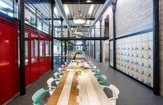 "Cool Parisian coworking space takes over former industrial building - Curbedclockmenumore-arrow : It's called ""Deskopolitan"""