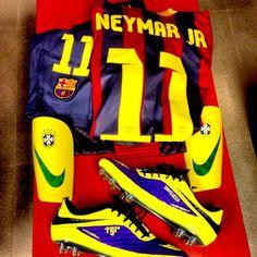 613d65eea3 Neymar mostra uniforme pronto para o clássico   Partiu ser feliz