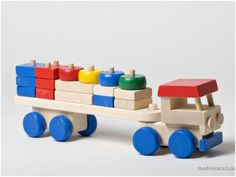 This wooden toy is suitable for children from 3 years of age. It teaches the understanding of spatial relationships, develop the ability to find a