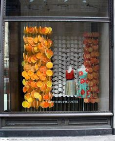 Beautiful window done by Anthropologie. I included this image because after graduating from FIDM, I hope to be designing creative, fashionable windows that showcase fashion in the most elegant way.