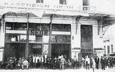 Το καφενείο Νέον στην Ομόνοια στα 1920