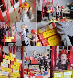 fire safety for kids  games, imaginative activities