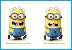 Despicable Me – The Minions Costumes For All Ages (And Pets! Oral Motor Activities, Occupational Therapy Activities, Speech Therapy, Minions, Minion Costumes, Letters For Kids, Funny Times, Speech And Language, Phonics