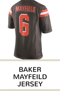 da7479039 Men s Nike Cleveland Browns Baker Mayfield Jersey