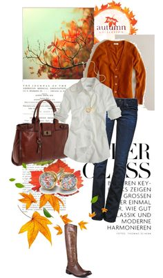 """Fall Spice"" by vintagesparkles78 ❤ liked on Polyvore"