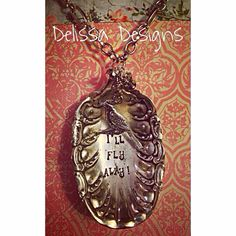Lovely spoon necklace from Delissa Designs