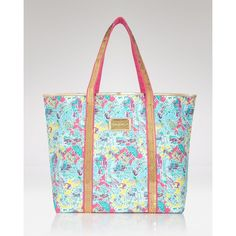 Lilly Pulitzer Sparkle Tote ($79) ❤ liked on Polyvore