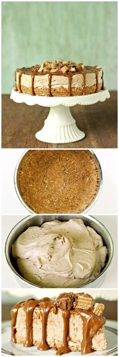 Peanut Butter Silk Pie is smooth, creamy and oh-so-fabulous! #peanutbutter #pie #recipe #sponsored