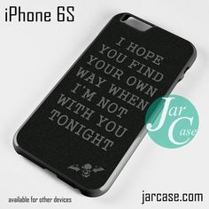 Avenged Sevenfold Lyrics Phone case for iPhone 6/6S/6 Plus/6S plus