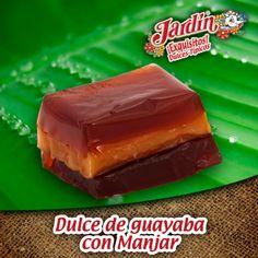 Dulce de guayaba con Manjar. Adquiere nuestros productos en http://www.productosjardin.com/navidad/