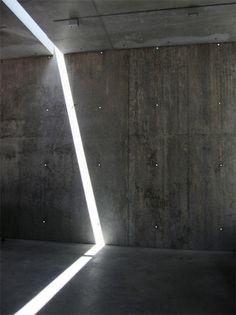 n-architektur: MoMA Entrance Building Andrew Berman Architect Photo via Light Architecture, Architecture Details, Interior Architecture, Light And Space, Light Installation, Brutalist, Moma, Light And Shadow, Lighting Design