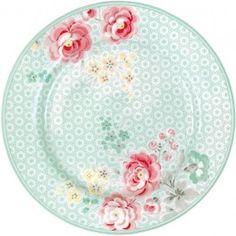 Greengate plates - Plate - Lulu Mint