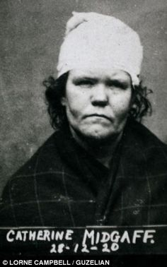 The wanted Victorian women: Historic mugshots reveal the cunning faces of England's Nineteenth Century bad girls