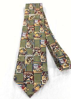 New Men/'s Purple With Flying Pheasants Necktie Tie
