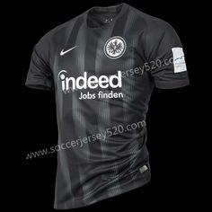 ed786f200 2018 -19 Eintracht Frankfurt Home Black Thailand Soccer Jersey AAA-417