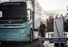 Volvo Trucks first electric truck FL Electric for urban distribution and refuse operations in Sweden Volvo Trucks, New Trucks, Used Volvo, Sustainable Transport, Electric Truck, Automotive Engineering, Combustion Engine, Bmw I8, Construction Worker