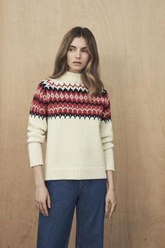 Buy This: & Daughter THE FAIRISLE KNIT - a classic winter warmer that's perfect for the weekend