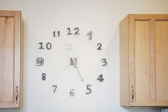 Kelsey Mike's Comfortable and Quirky Home House Tour Minimalist Clocks, San Francisco Houses, Diy Clock, Amazing Spaces, Apartment Therapy, House Tours, Window Treatments, Outdoor Spaces, Beautiful Homes