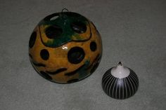Unlit oil burner gourd. Pamela Hebert, Shreveport, LA.