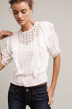 Talk about a haute look. Check out this Love Sam Country Gables Blouse today.