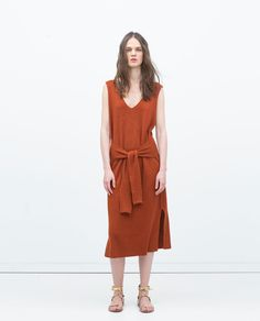 Image 1 of KNOT DRESS from Zara