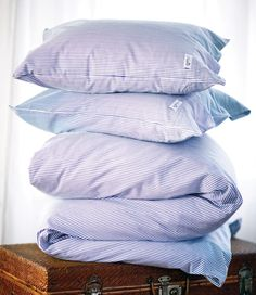 Cape Cod Blue Bedding - 100% Oxford Cotton. By Newport Collection