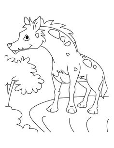 Coyote Jackal Coloring Pages For Kids