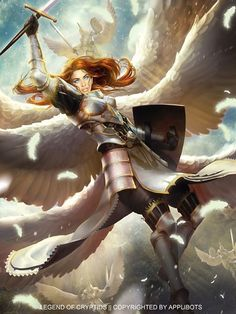 Angel guerrera legend of the cryptids