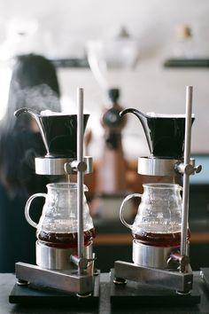 "365daysofcoffee: ""Four Barrel | San Francisco Contax Aria | Fuji Superia 400 """