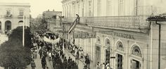 "Farmacia Francesa TRIOLET   Matanzas 1929  imagen del libro ""canto a MATANZAS"" Matanzas Cuba, Brooklyn Bridge, Louvre, Building, Travel, Real Estate, 19th Century, Pharmacy, Exhibitions"