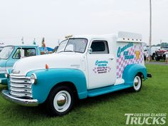 Custom Classic trucks Ice Cream Van