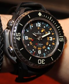 Blancpain X Fathoms ...this is one BAD ASS watch!