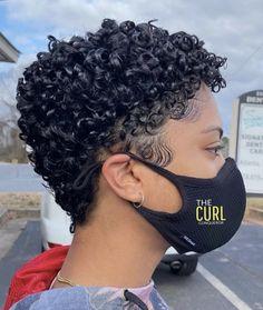 Short Natural Curly Hair, Natural Hair Care, Natural Hair Styles, Cute Curly Hairstyles, Afro Hairstyles, Curly Hair Styles, Low Bun Bridal Hair, Types Of Curls, Hair Shows