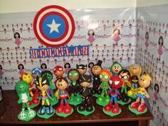 Dareliart: Heróis kit com 17 - Encomenda da Michelle