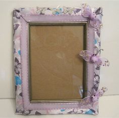 Handmade Picture Frame 5 x 7 with FREE Signature by LetsBKreative, $34.99