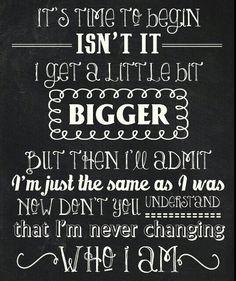 Imagine Dragons- I am never changing who I ammmm!!!!