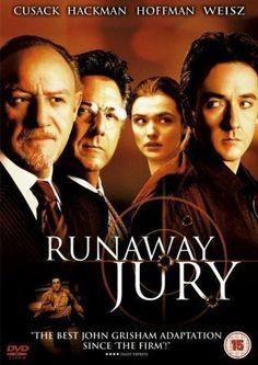 Runaway Jury is an American drama/thriller film starring John Cusack, Gene Hackman, Dustin Hoffman, and Rachel Weisz. It is an adaptation of John Grisham's novel.