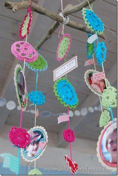 Love this crochet mobile