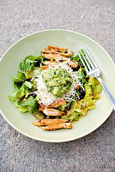 Grilled Chicken Salad with Chipotle Honey Vinaigrette