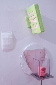 evanisoline:  Evan Isoline, *Detail of 'CRUCIFIXION',Mixed Media Installation Pacific Northwest College of Art, Open Studios, November 14th, 2014.