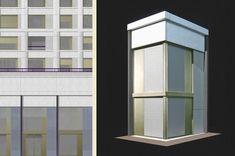 – Meili Peter Architekten Facade, Tower, City, Building, Grid, Projects, House, Blue Prints, Lathe