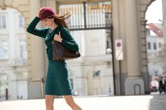 D'Auvry Midi Skirt, Hats, Skirts, Fashion, October, Moda, Midi Skirts, Hat, Skirt Outfits