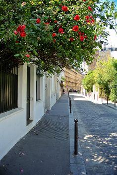 My dads street :) Paris Grand Paris, Tu Me Manques, Paris Street, Rue, Sidewalk, Places, Apartments, Dads, Catacombs Paris