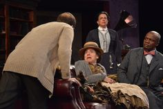 The cast of Pygmalion at the dress rehearsal. Photo by Jay Yamada.