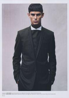 A Dior Homme Clad Arthur Gosse Graces HUgE #95