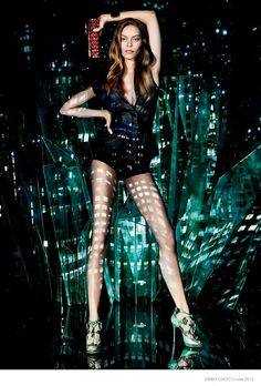 110a67f9cbb6 More Photos of Jimmy Choos Cruise 2015 Ads with Ondria Hardin Fashion  Brands