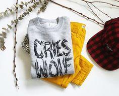 Cries Wolf Sweatshirt
