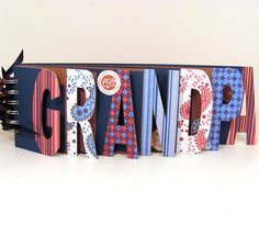 @ memoriesforlifesb, etsy #  word album mini chipboard scapbook
