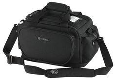 "Beretta BS1201890999 Tactical Range Bag Regular Polyester 13.5""x8""x10"" Black   Get Racked Outdoor Supplies"